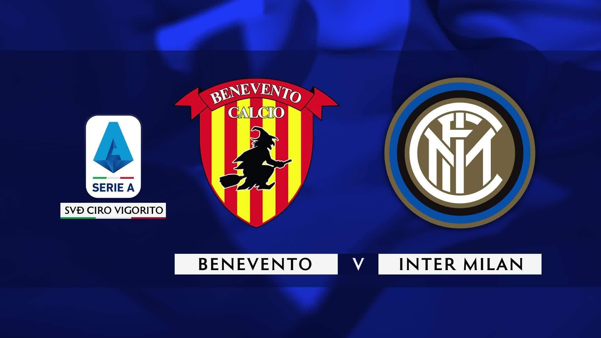 Benevento 2-5 Inter Milan