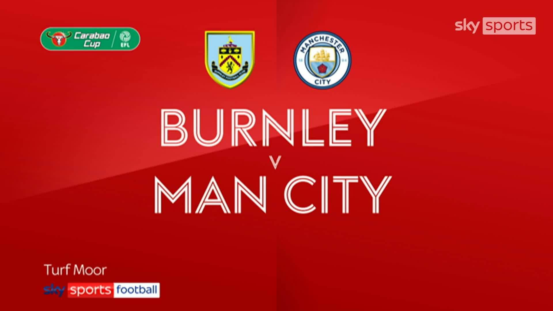 Burnley 0-3 Man City