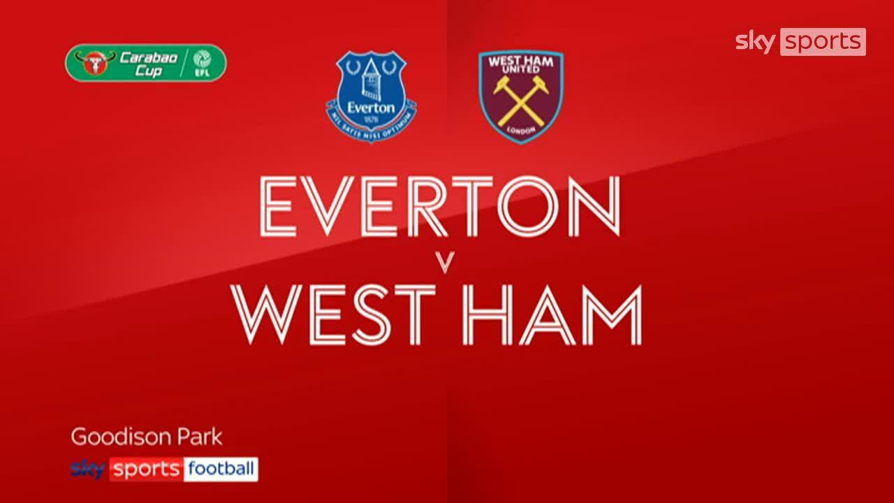 Everton 4-1 West Ham