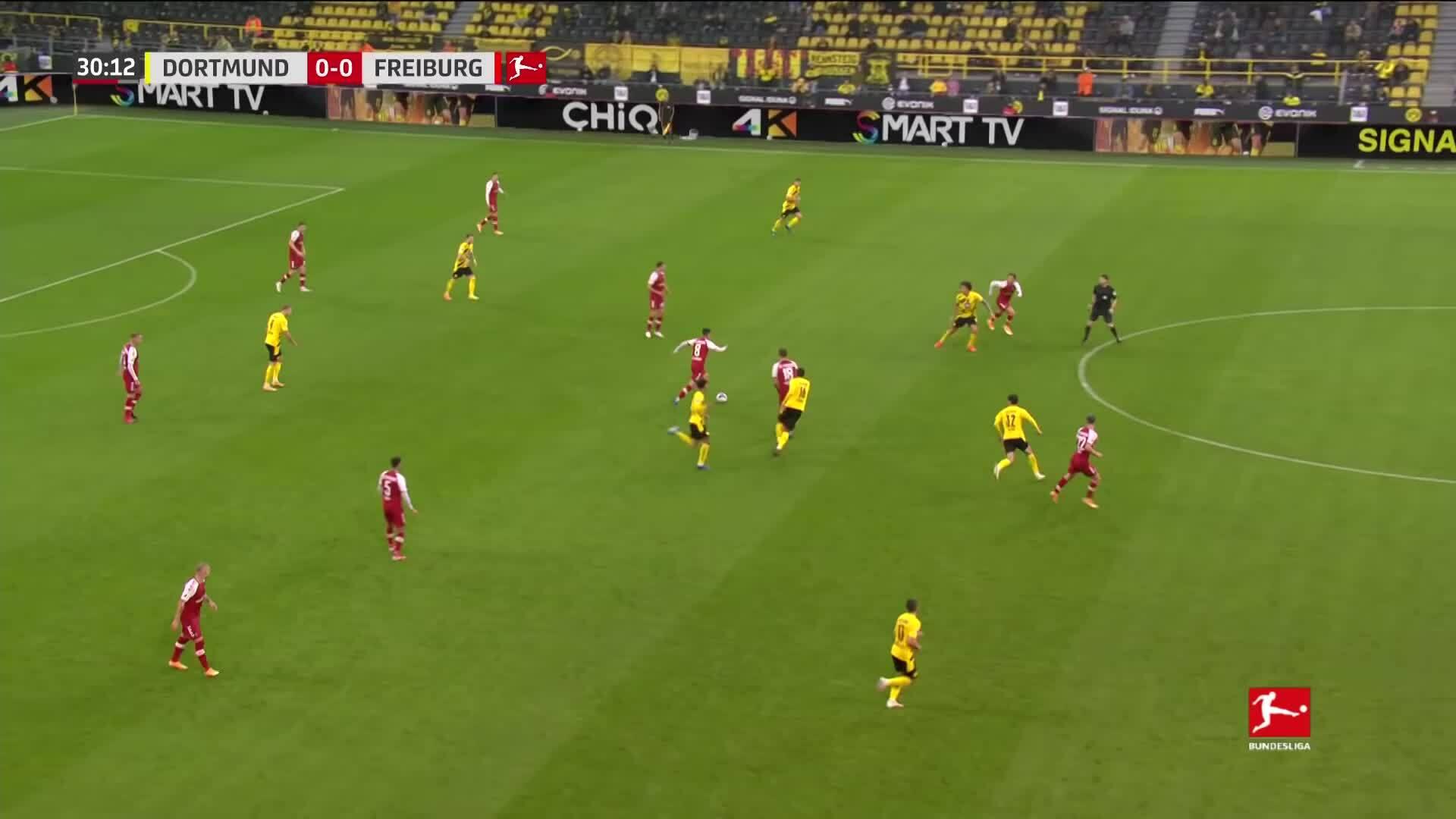 Dortmund 4-0 Freiburg