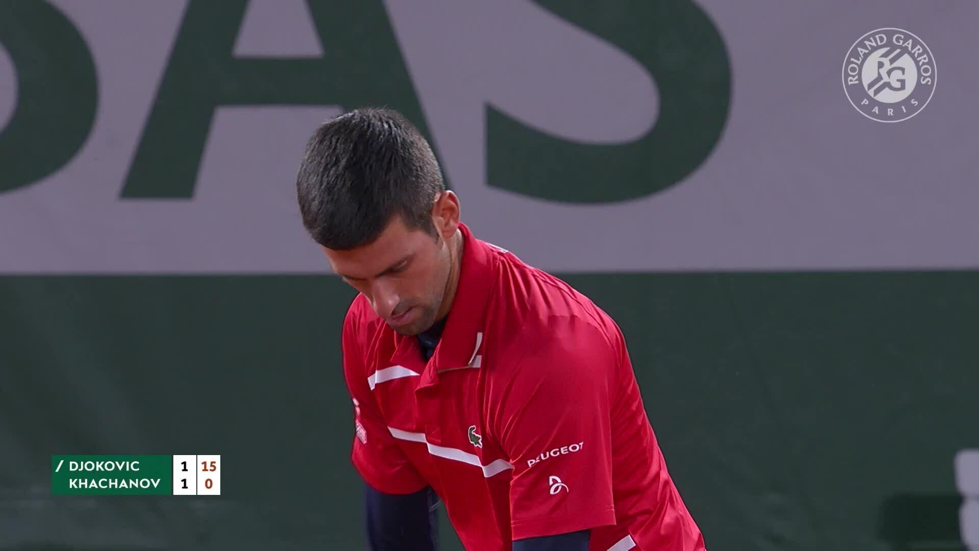 Novak Djokovic 3-0 Karen Khachanov