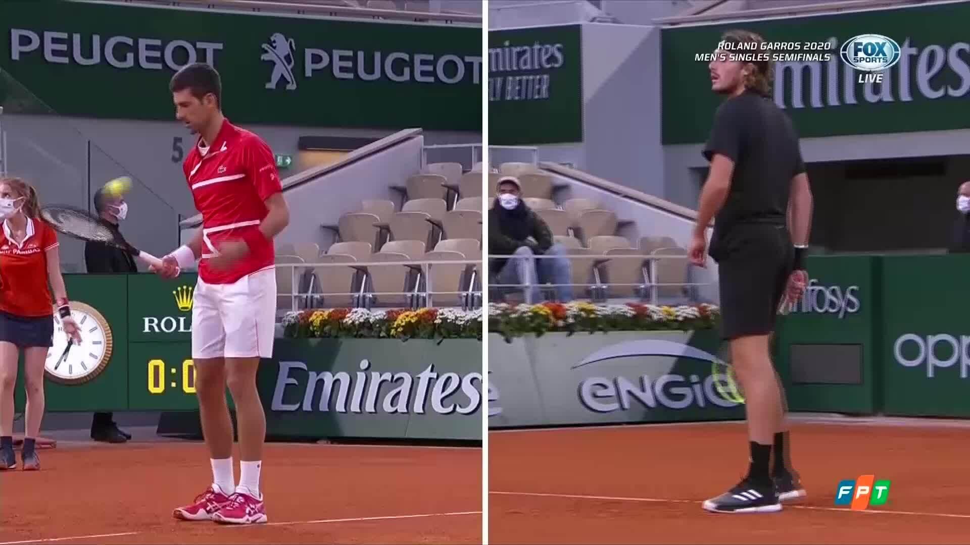 Novak Djokovic - Stefanos Tsitsipas