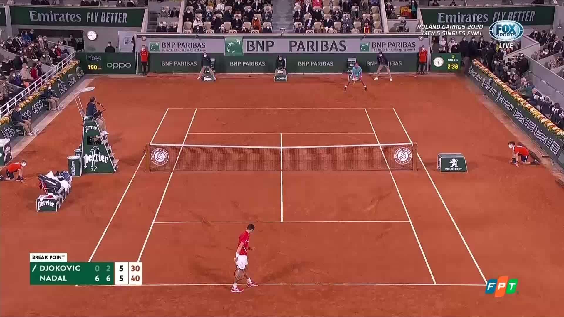 Grand Slam thứ 20 cho Nadal