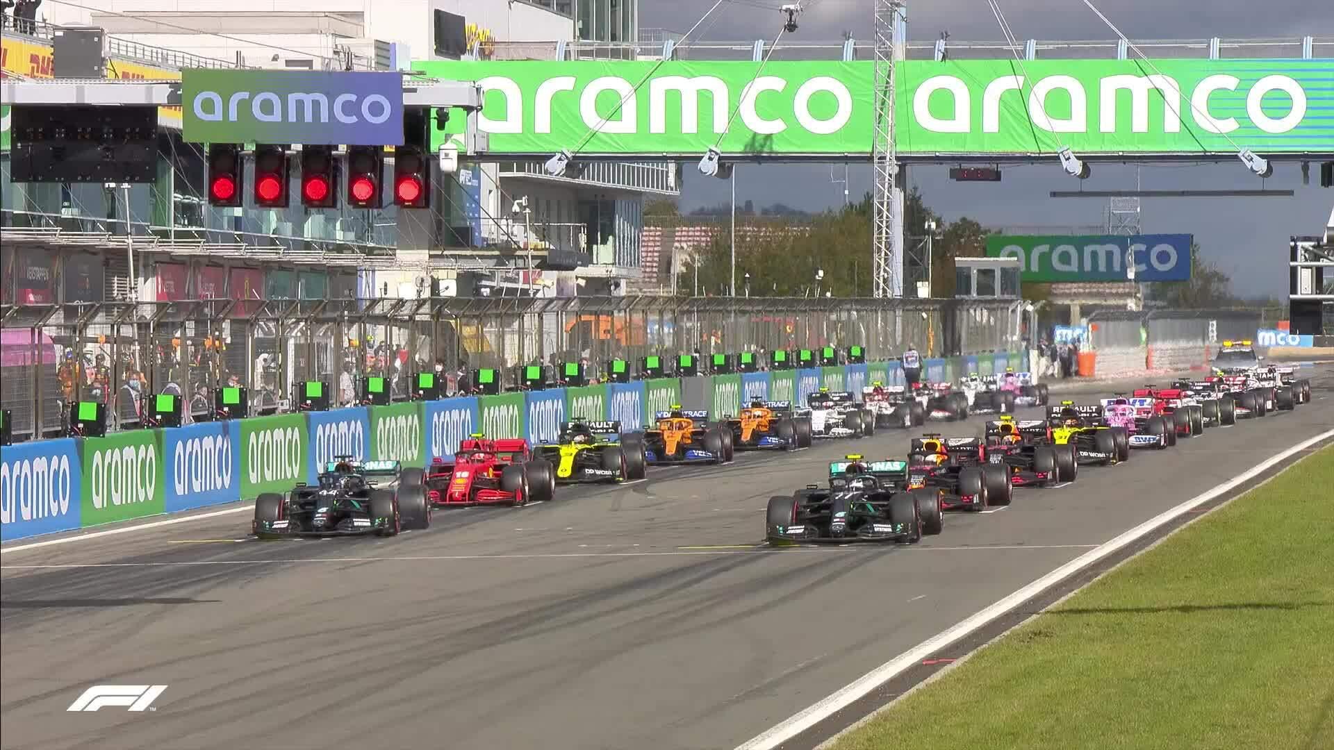 Lewis Hamilton về nhất tại EifelGP