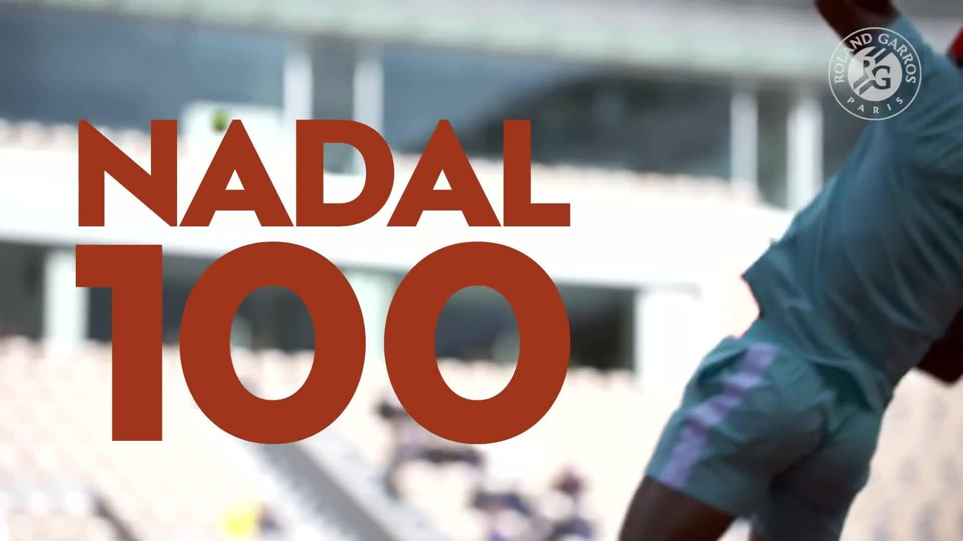 Chiến thắng thứ 100 của Rafael Nadal tại Roland-Garros