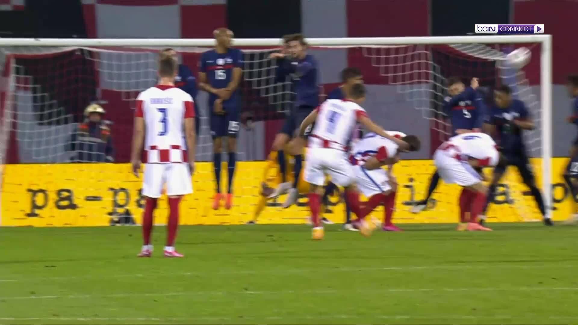 Croatia 1-2 Pháp