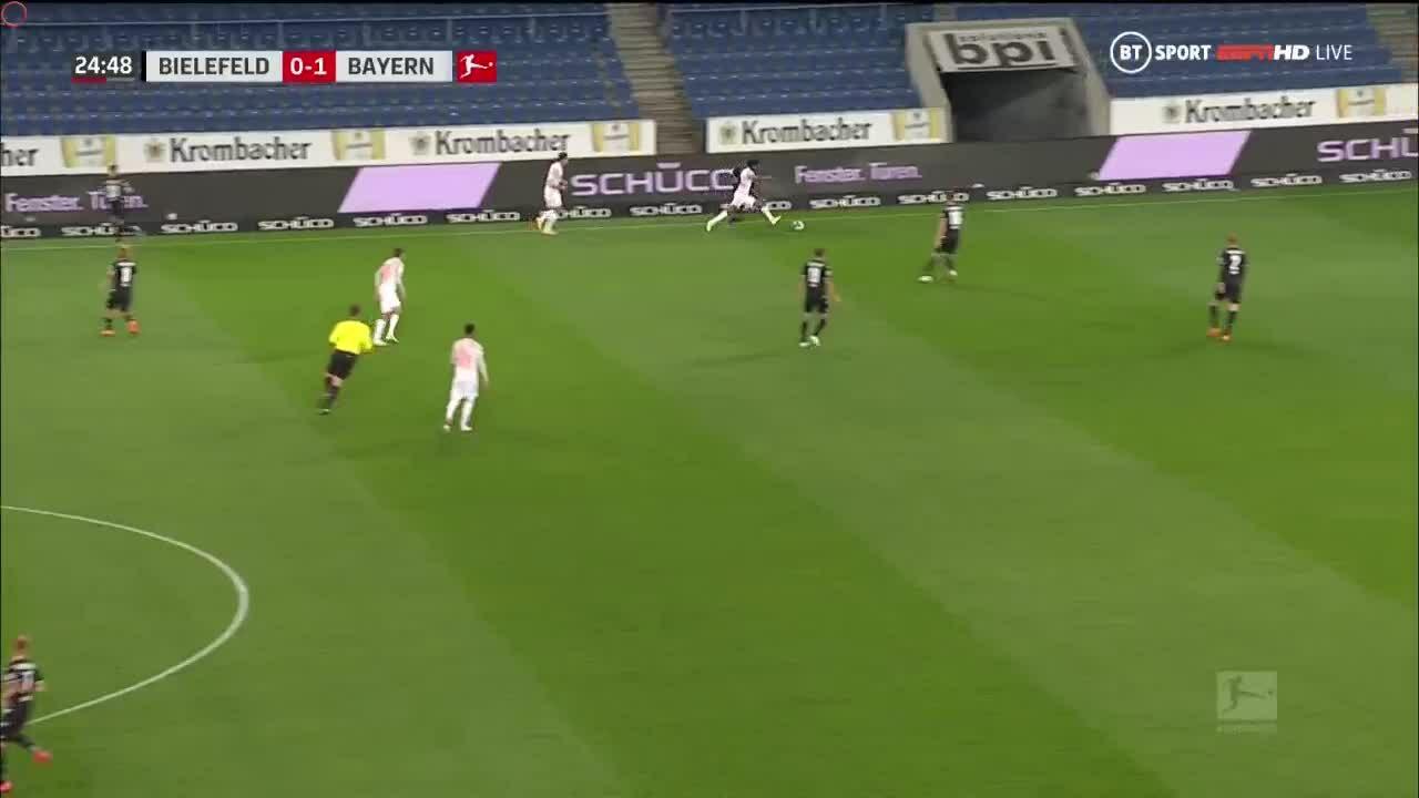 Bielefeld 1-4 Bayern
