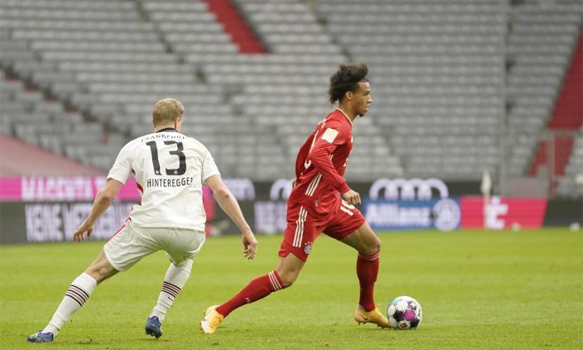 Sane tái hiện tuyệt kỹ ghi bàn của Robben