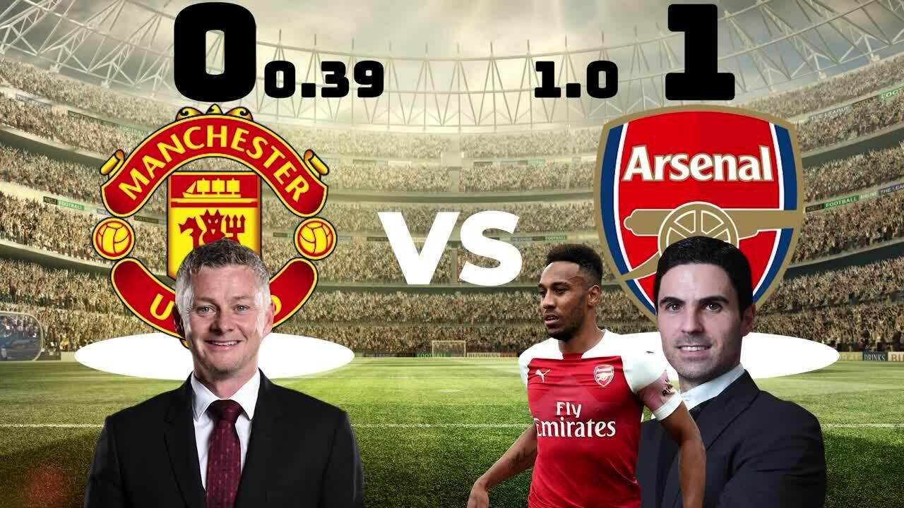 Chiến thuật trận Man Utd - Arsenal