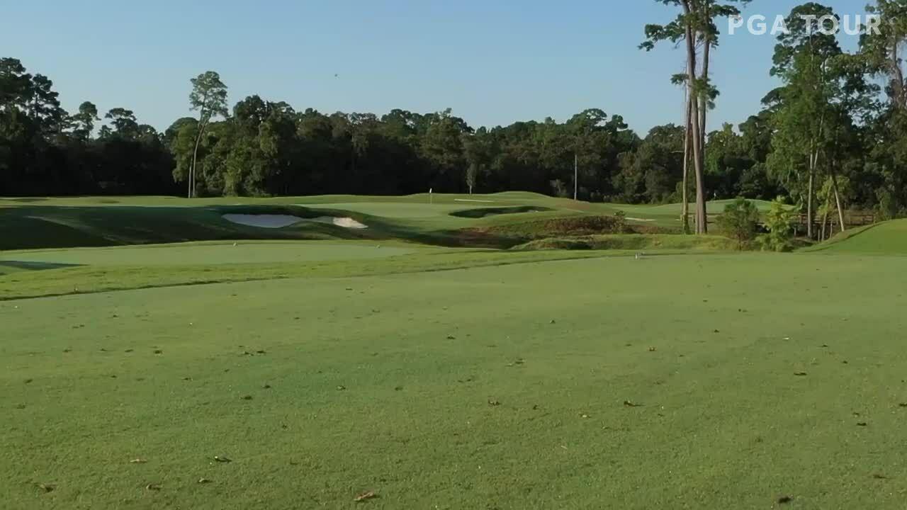 Toàn cảnh sân golf Houston