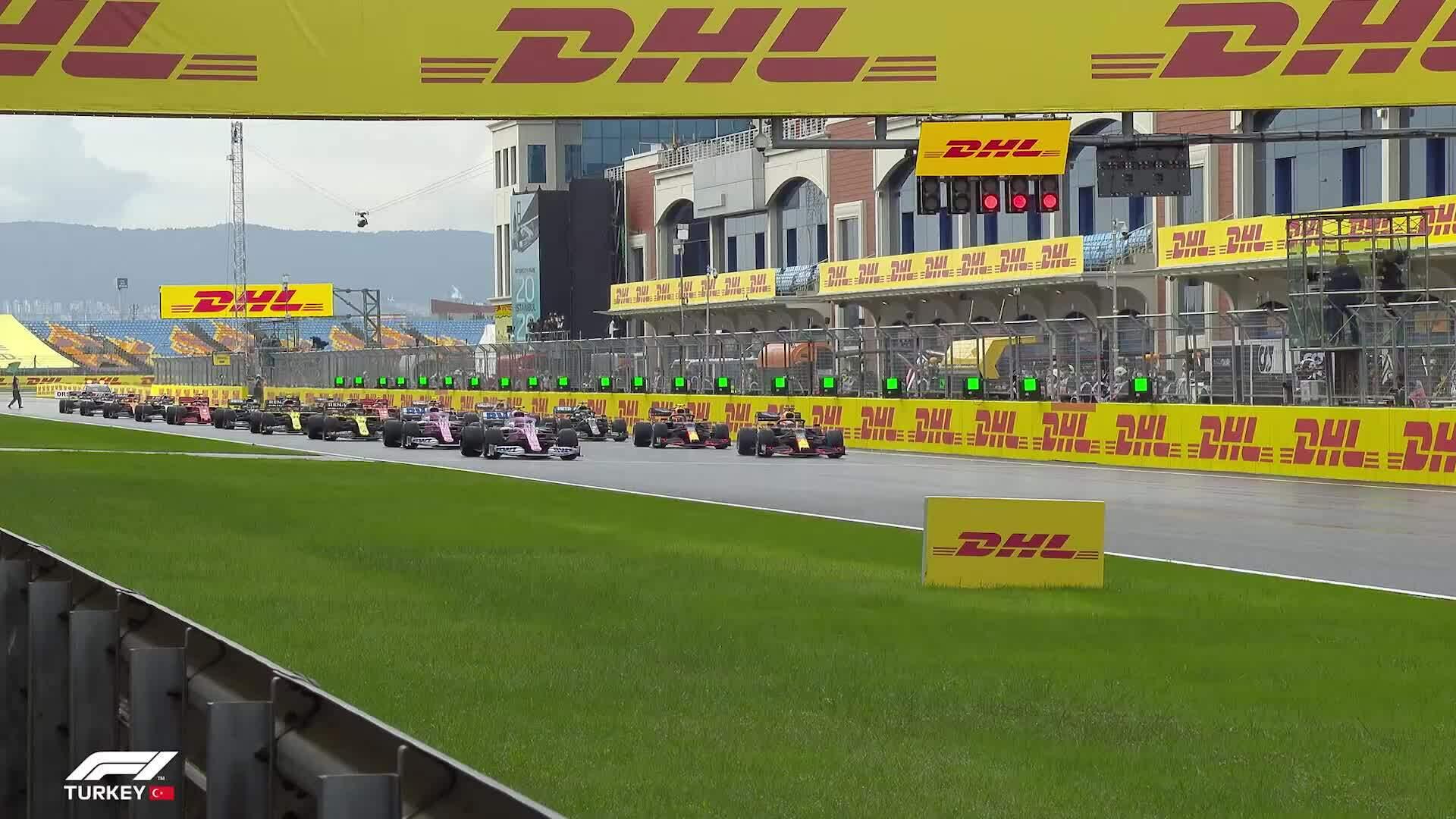 Hamilton về nhất tại TurkishGP