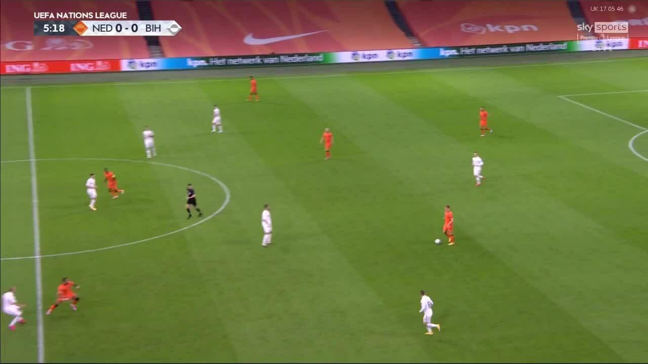 เนเธอร์แลนด์ 3-1 บอสเนีย - เฮอร์เซโกวีนา