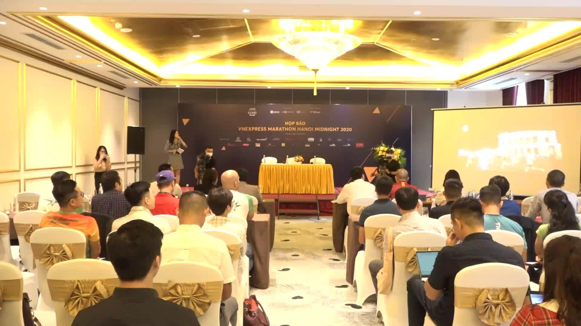 VnExpress Marathon Hanoi Midnight lan tỏa tinh thần thể thao