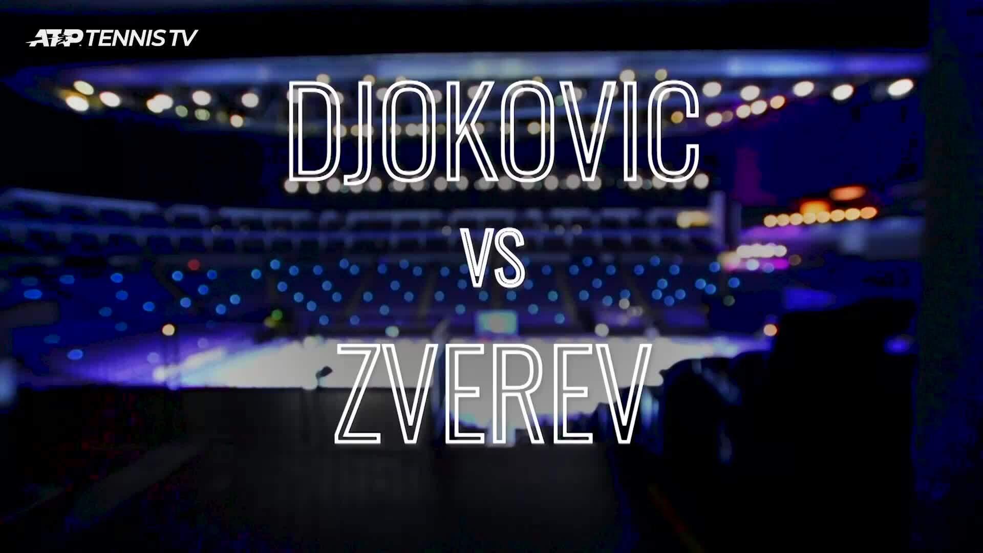 Djokovic 2-0 Zverev