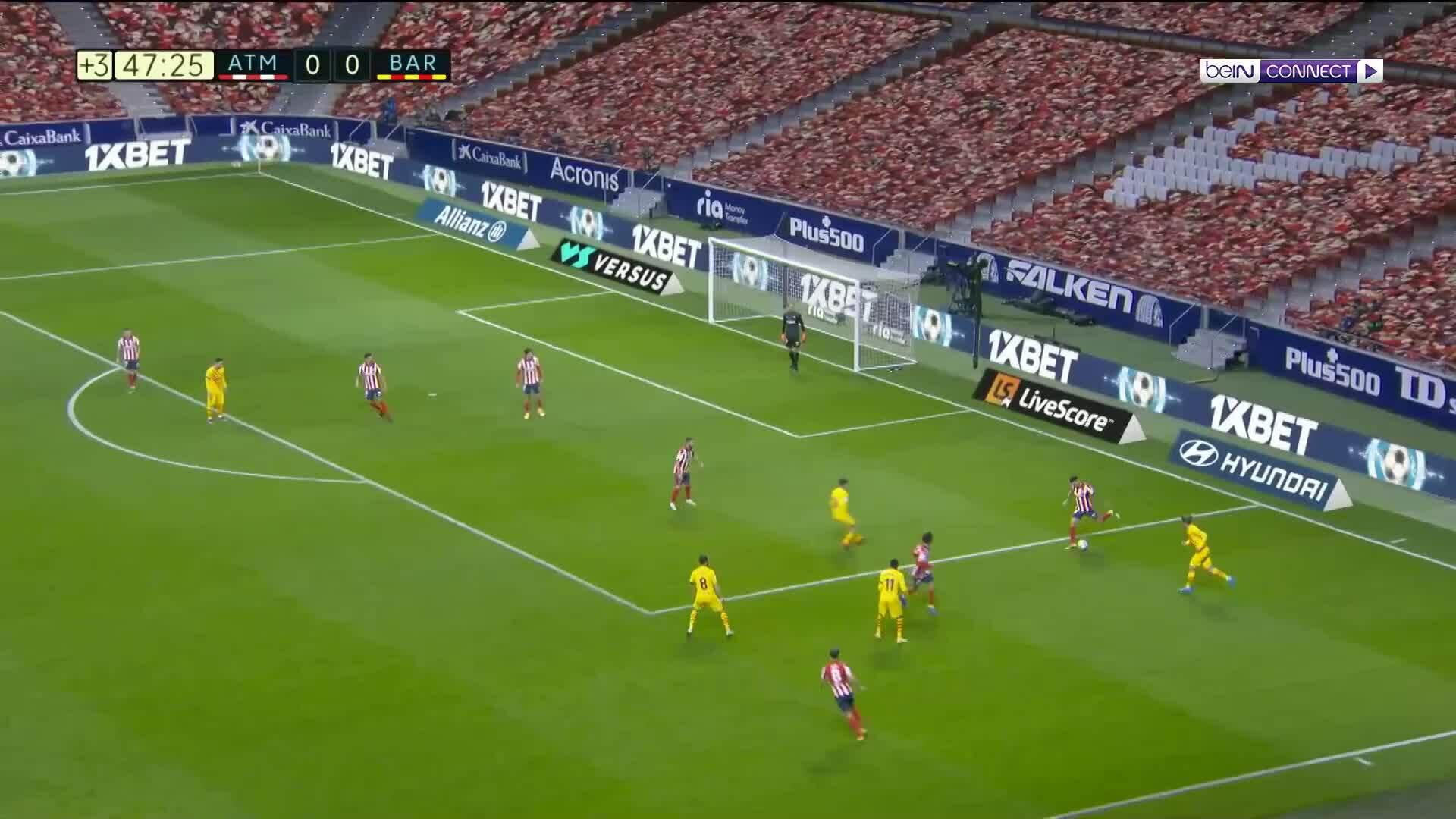 Atletico Madrid 1-0 Barca