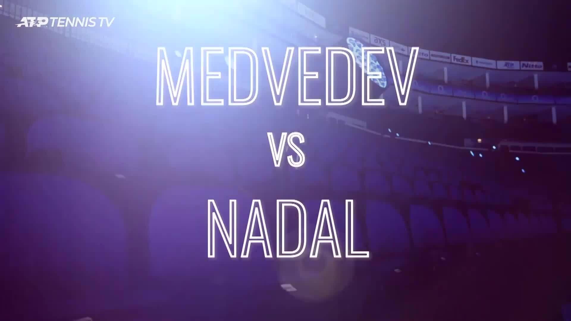 Nadal 1-2 Medvedev