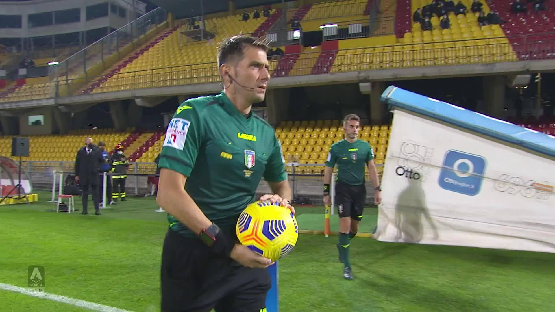 Benevento 1-1 Juventus
