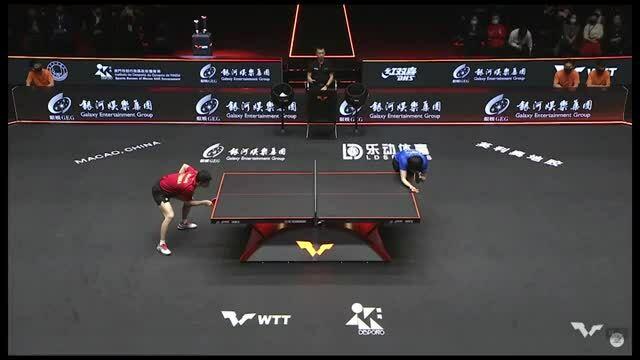 Ma Long vs Vuong So Kham WTT Macao 2020