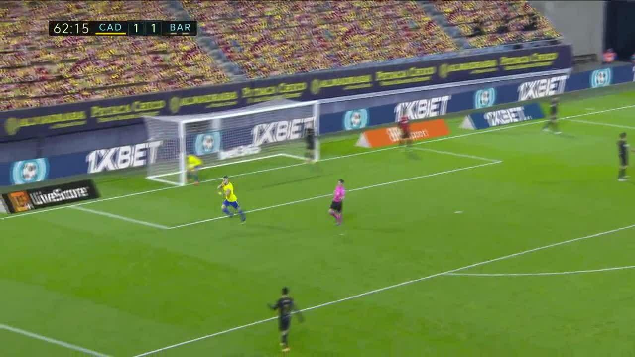 Cadiz 2-1 Barca