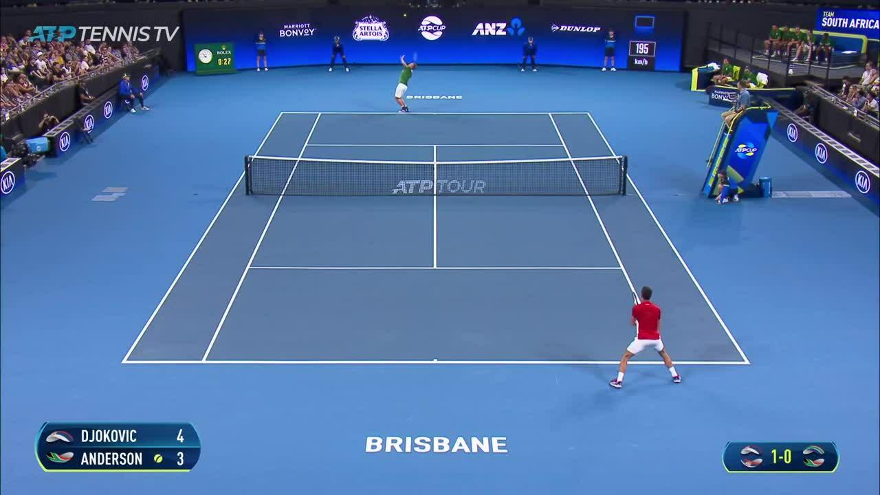 Những trận đấu đáng nhớ của Djokovic ở mùa giải ATP 2020