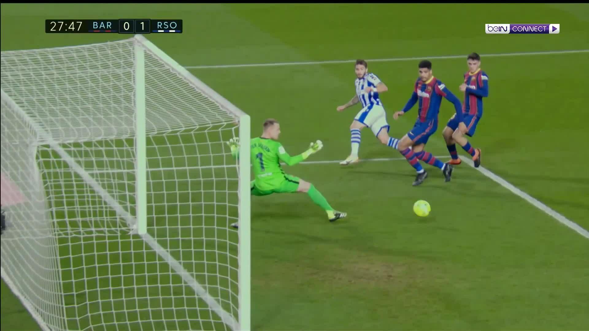 Barca 2-1 Real Sociedad