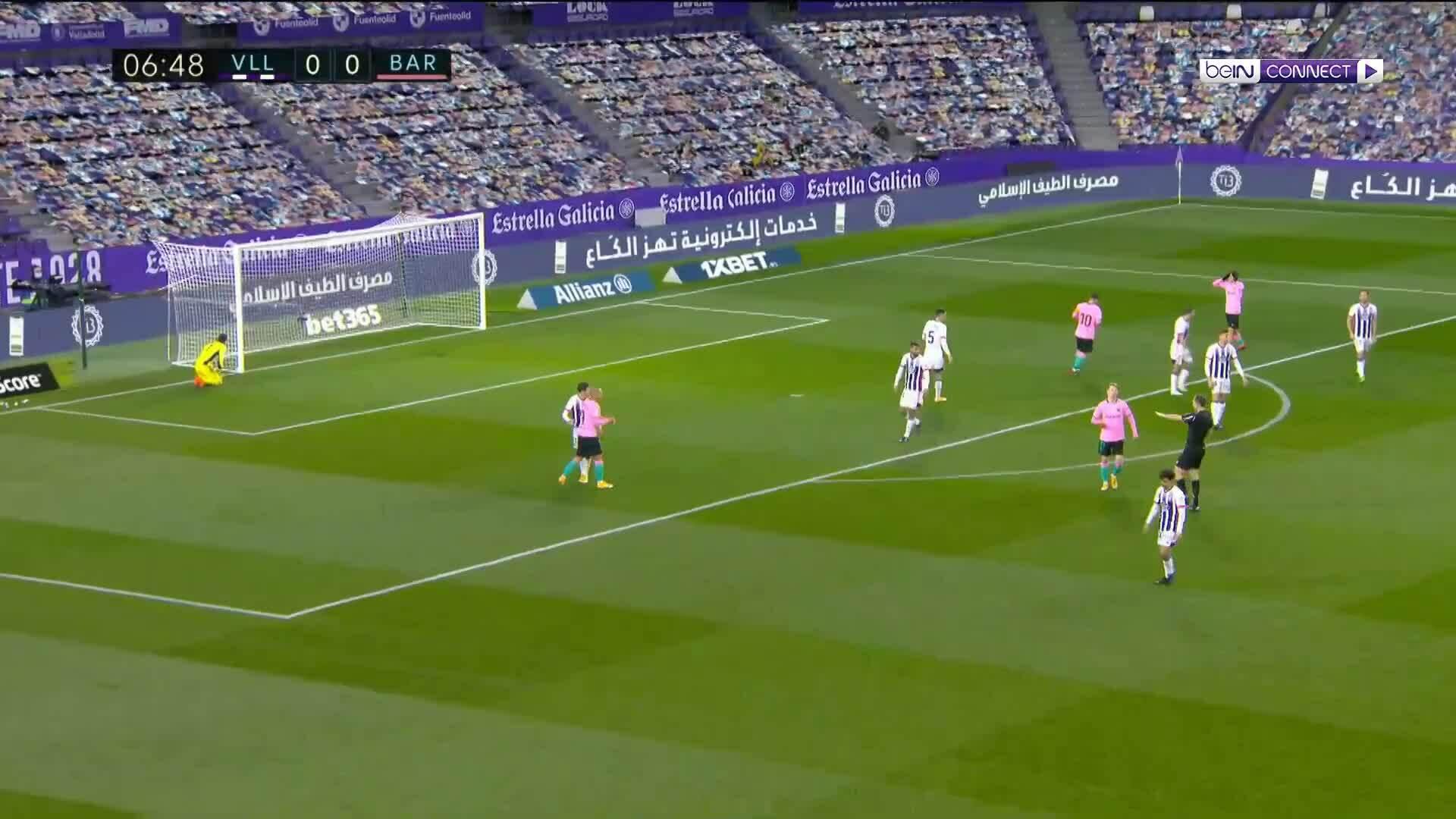 Valladolid 0-3 Barca