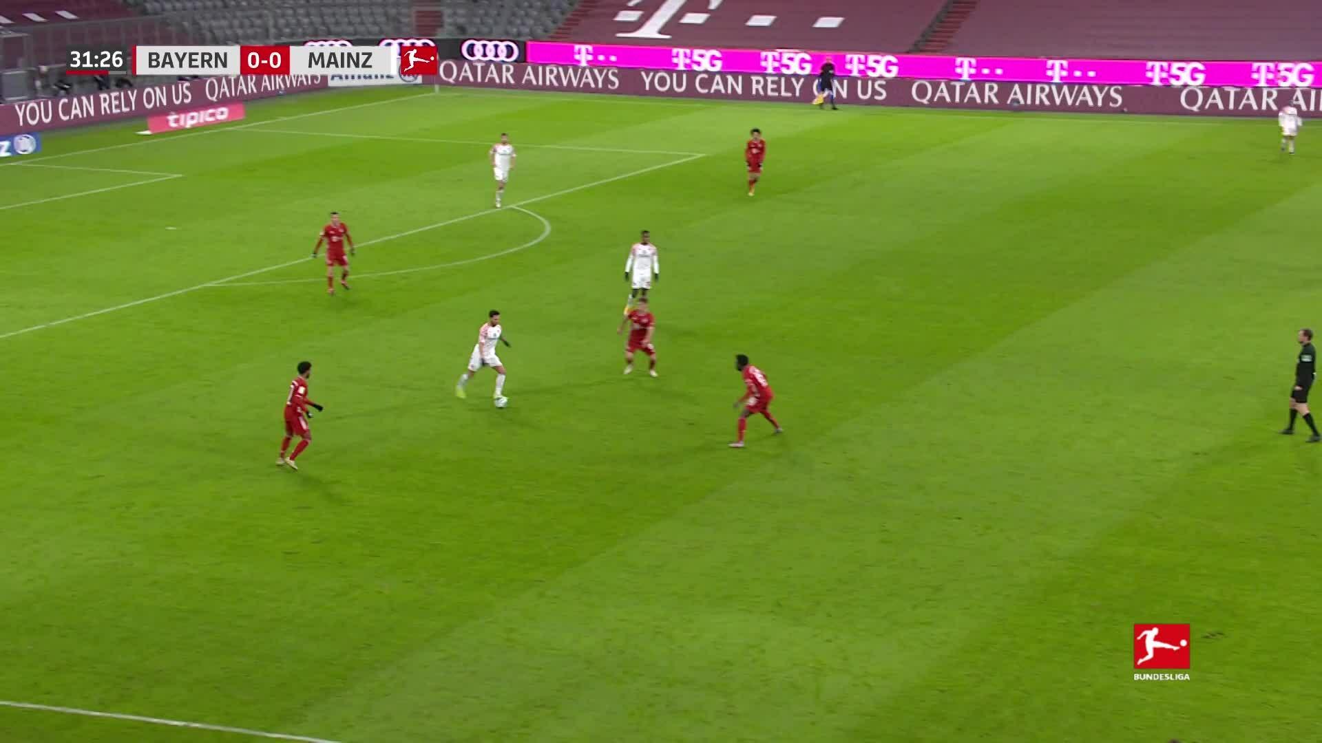 Bayern 5-2 Mainz 05