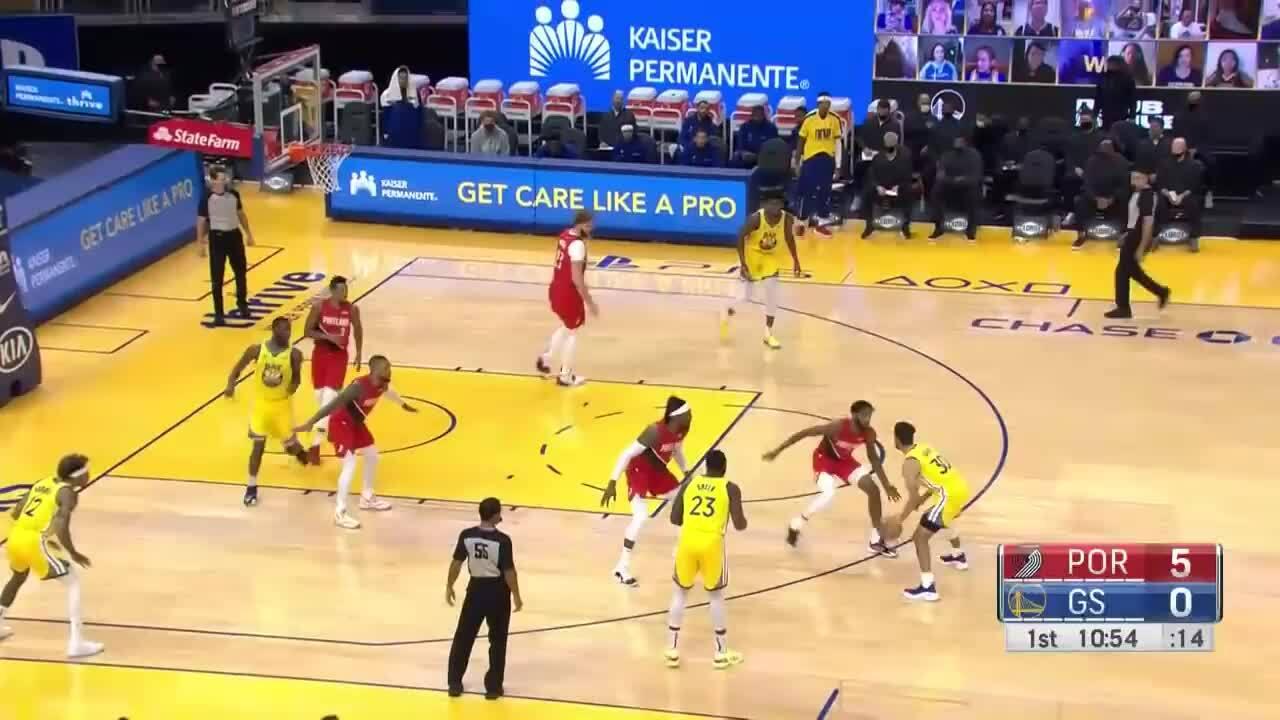 Curry membuat rekor pribadi di NBA