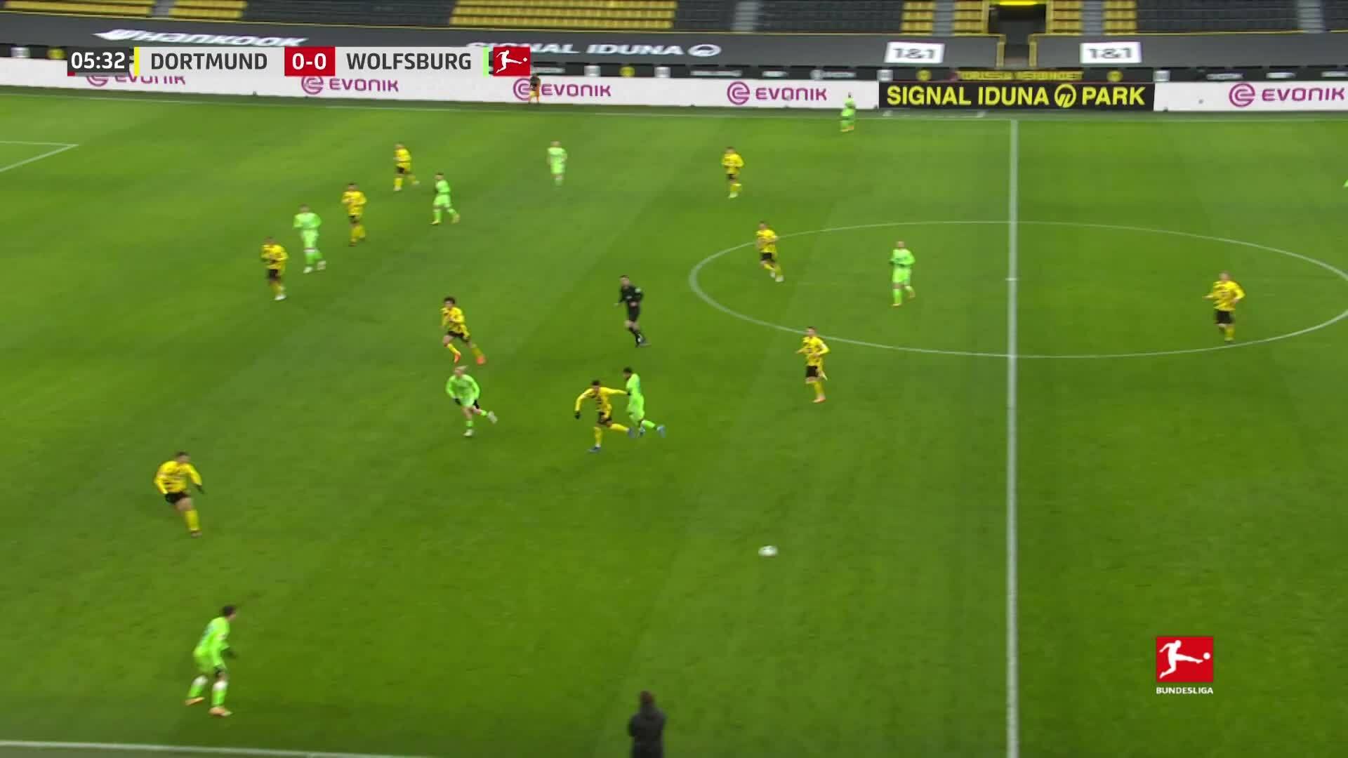 Dortmund 2-0 Wolfsburg