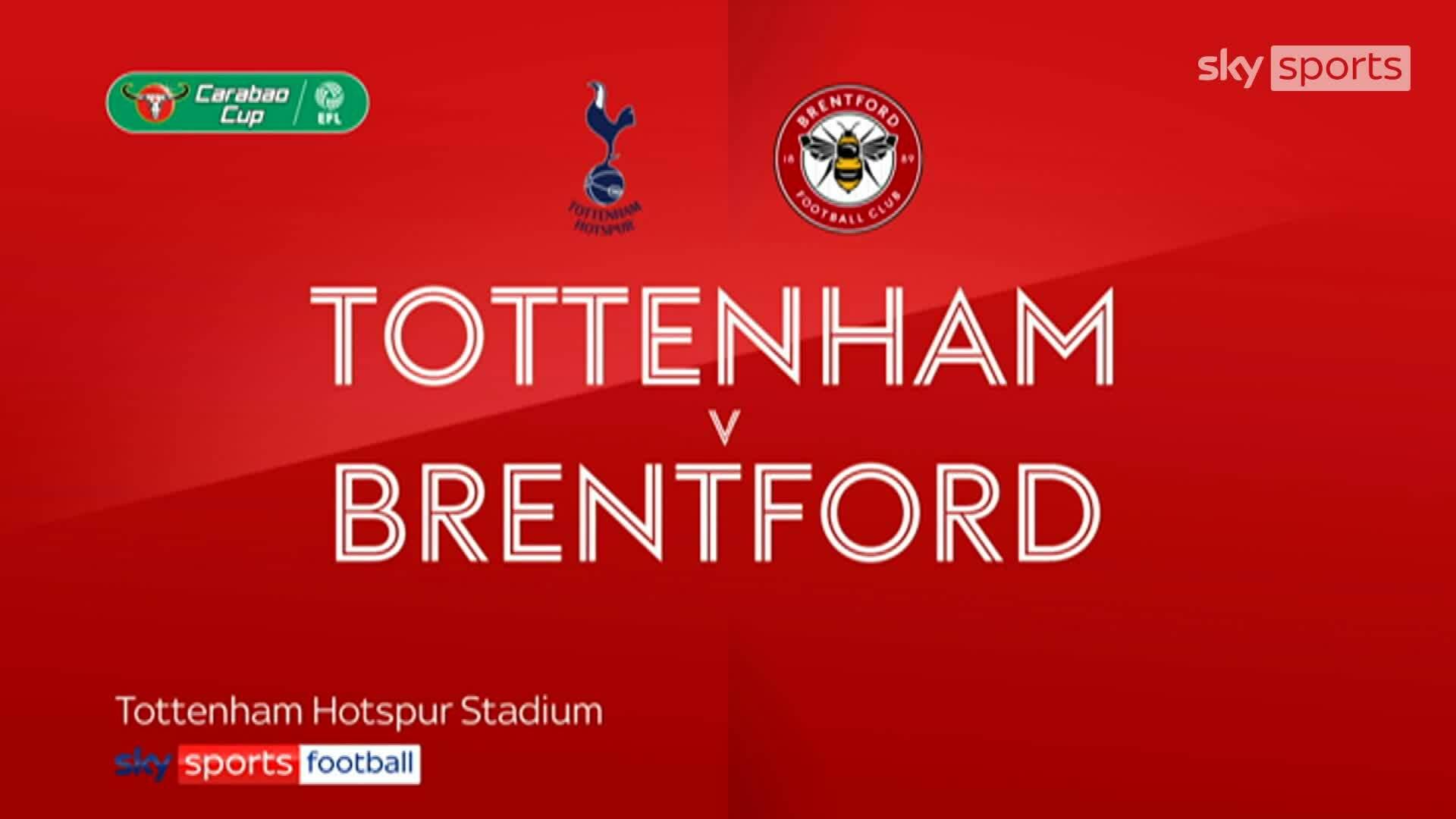 Tottenham 2-0 Brentford