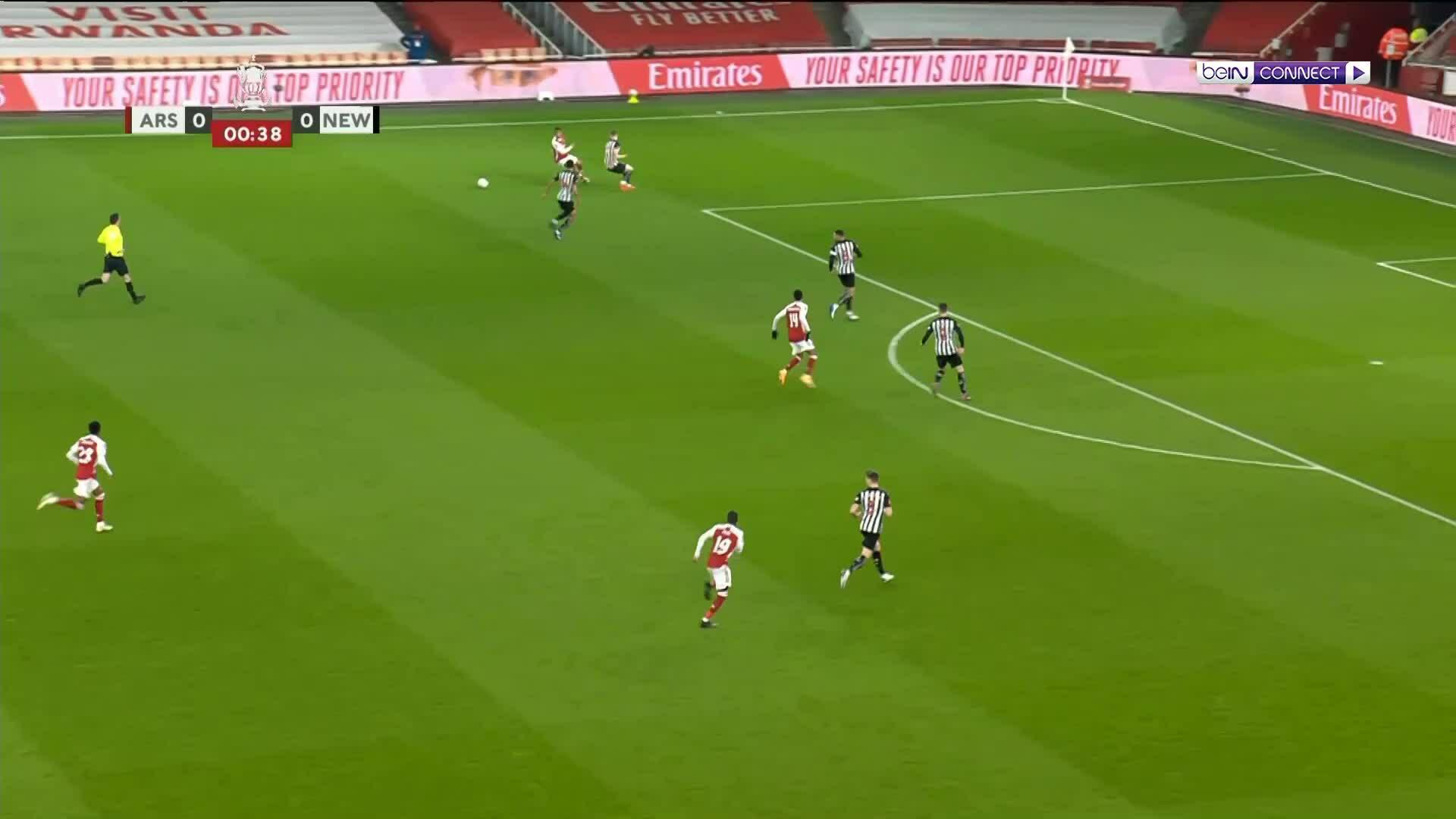นิวคาสเซิลอาร์เซนอล 2-0
