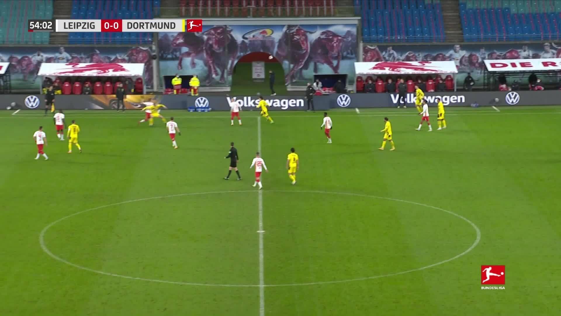 RB Leipzig 1-3 Dortmund