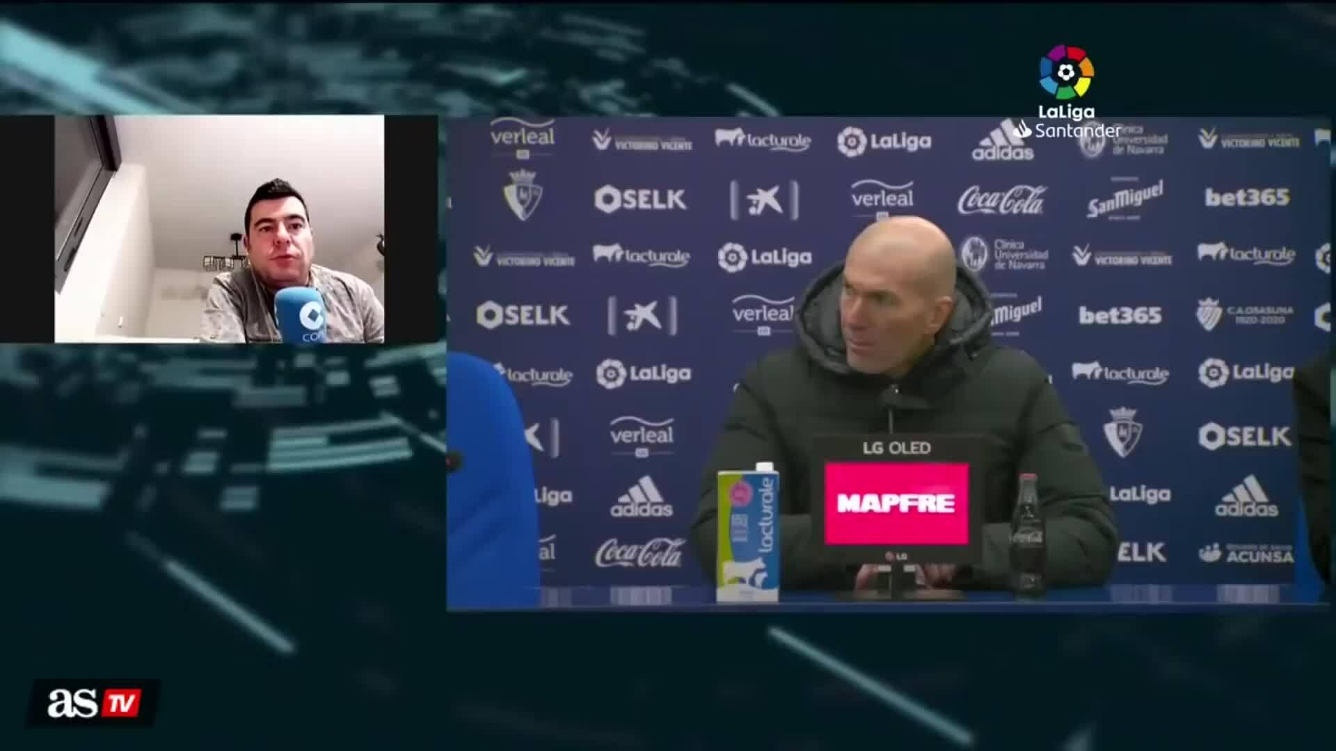 Zidane họp báo