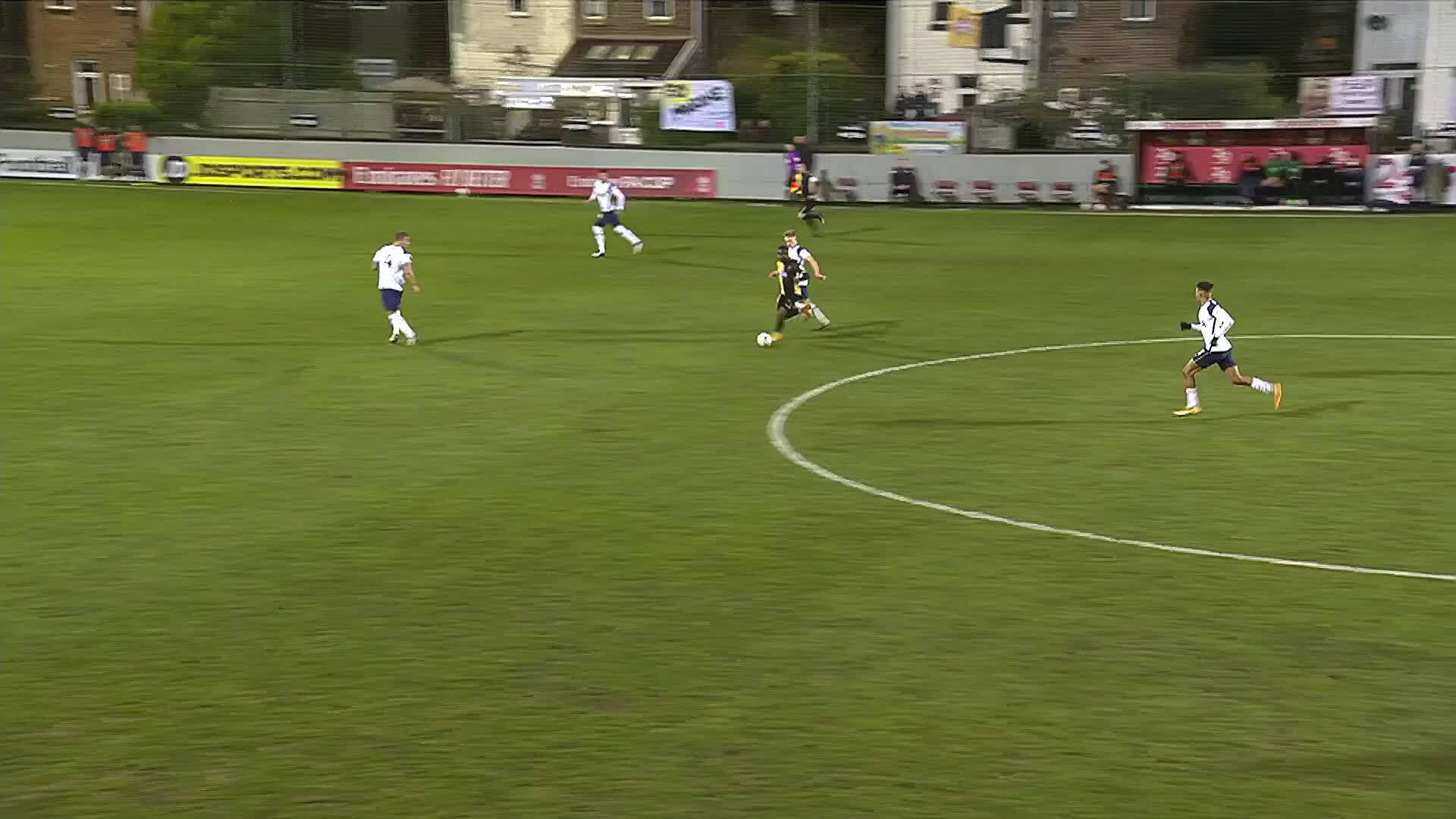 Marine 0-5 Tottenham