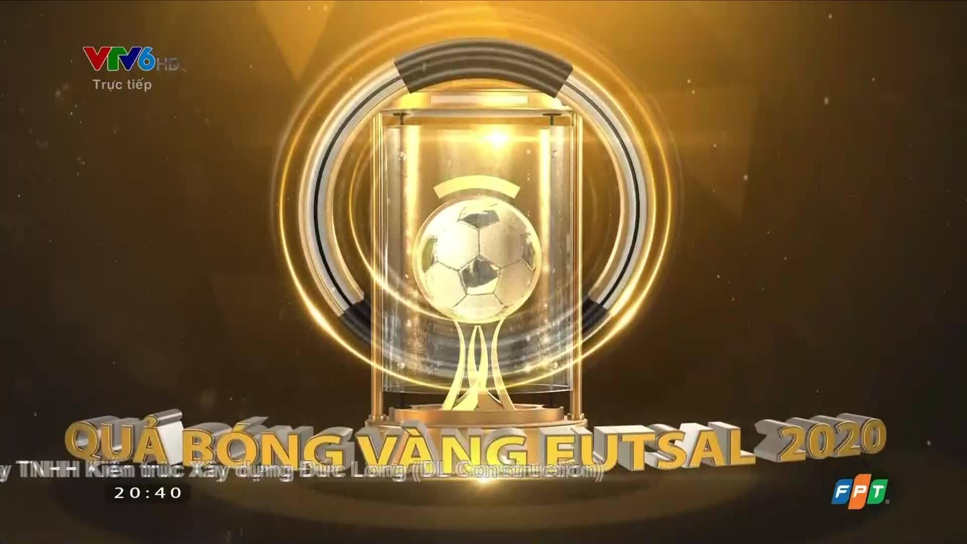 Minh Trí lần đầu đoạt Quả Bóng Vàng Futsal