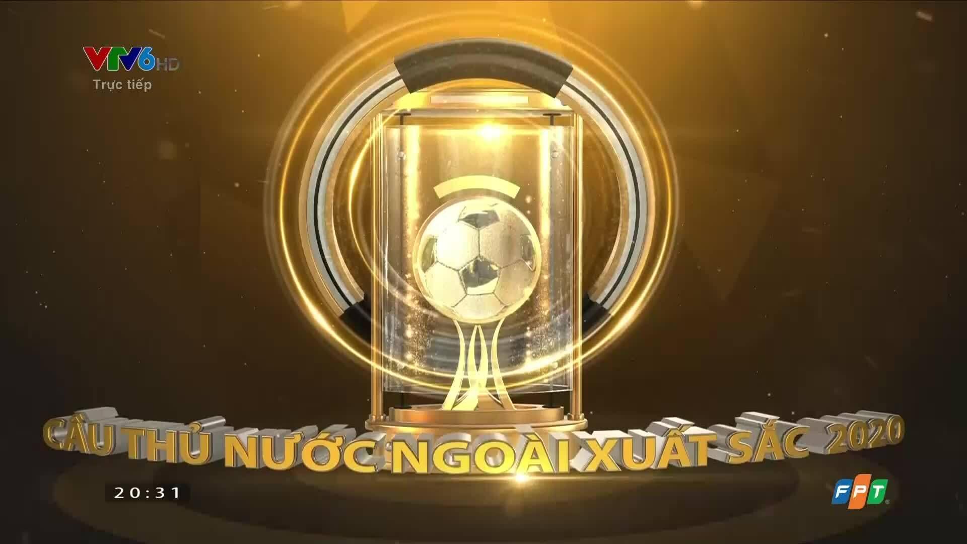 Tiền đạo Bruno Cantanhede đoạt Cầu thủ ngoại xuất sắc