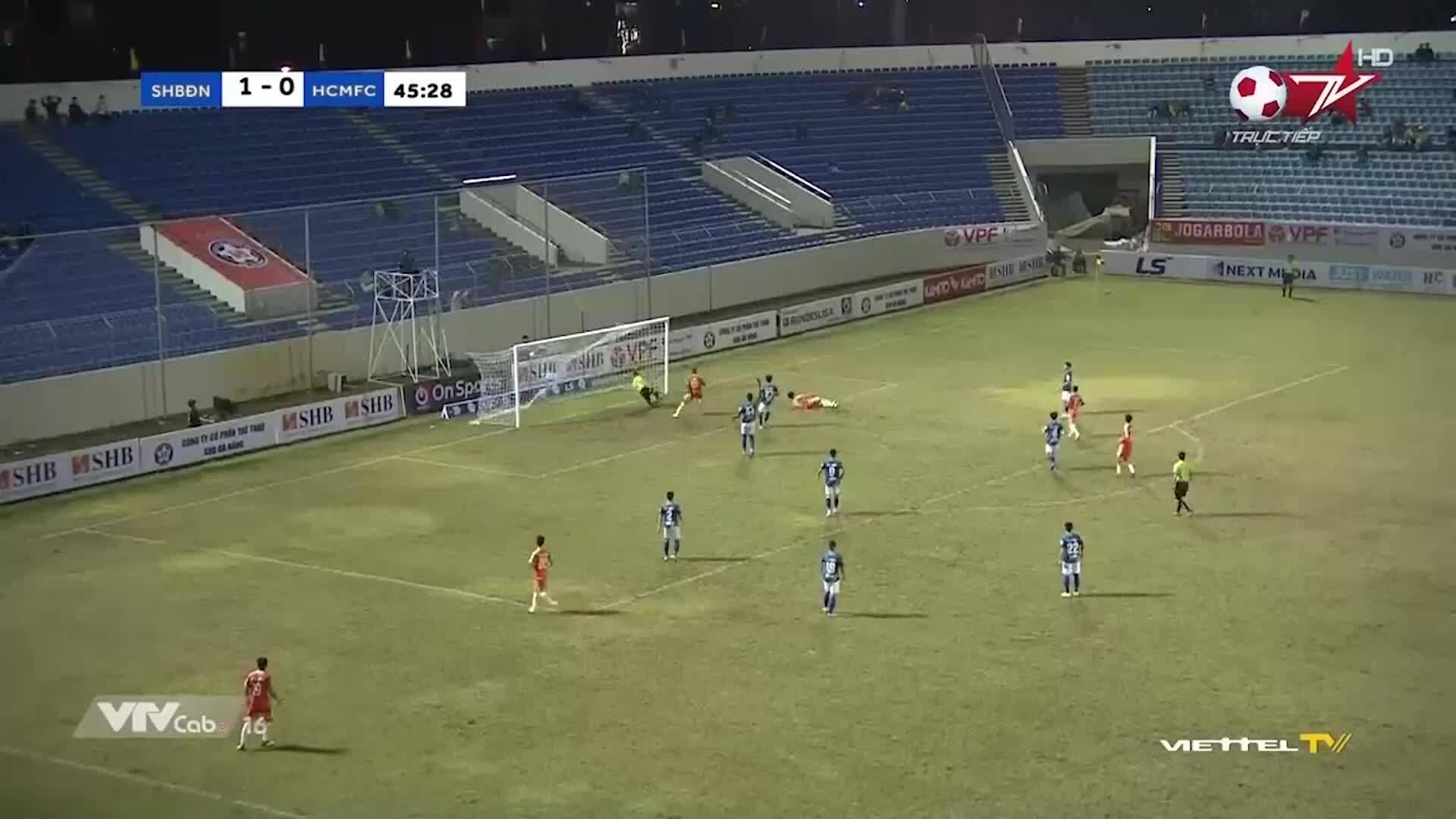 Đà Nẵng 1-0 TP HCM