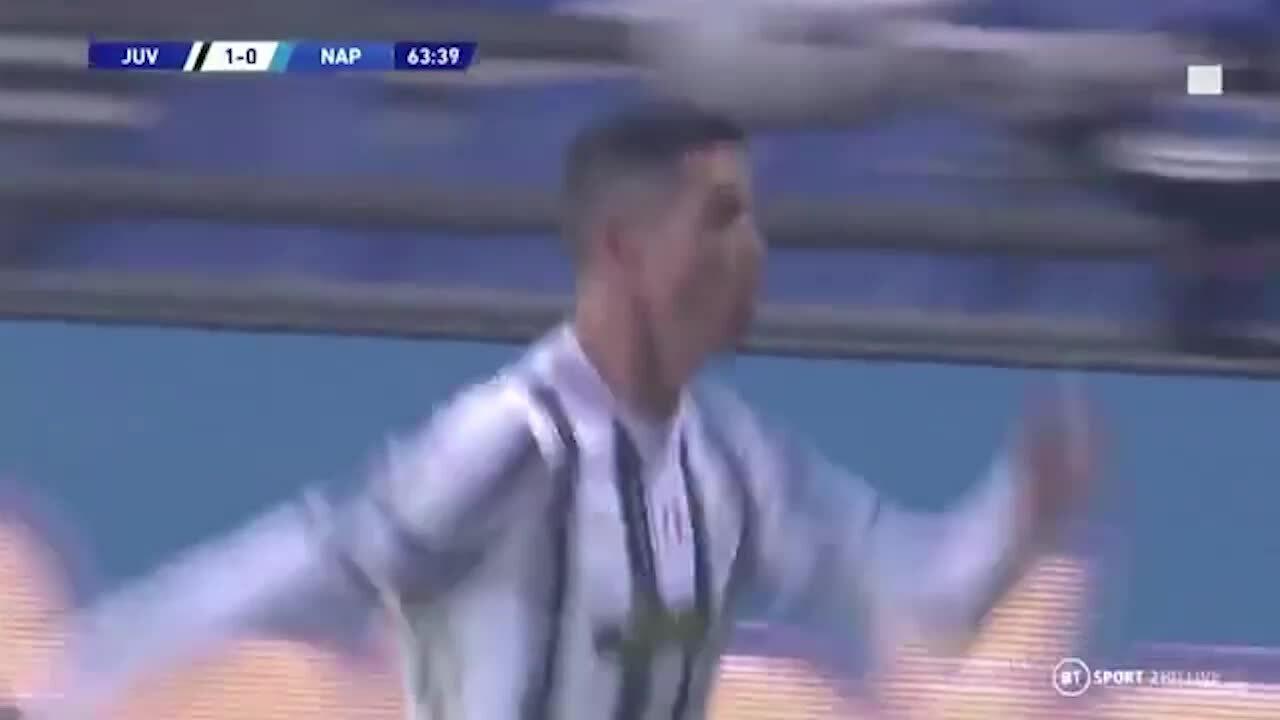 Ronaldo ghi bàn mở tỷ số cho Juventus