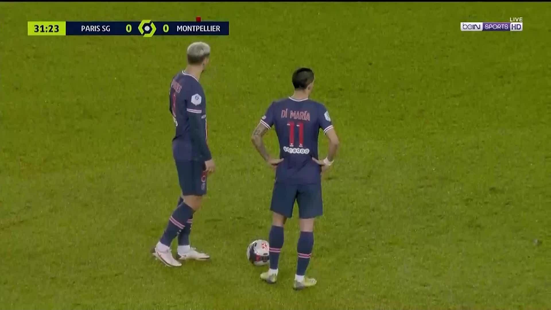 PSG 4-0 Montpellier