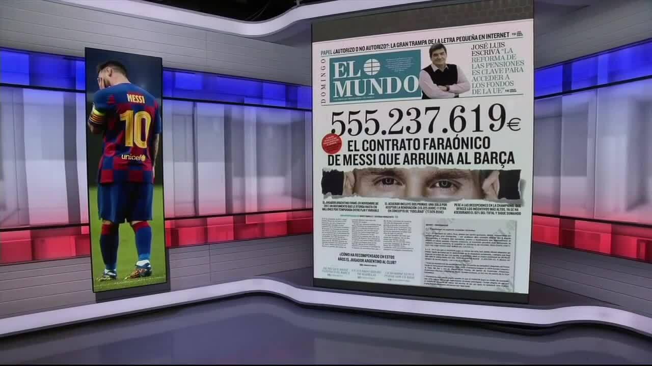 Komentar ahli tentang kontrak Messi