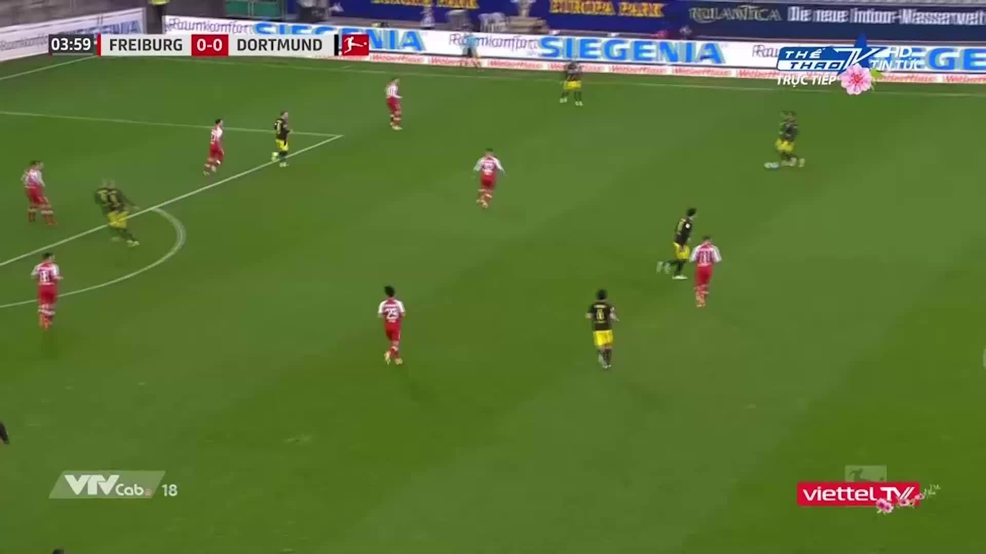 Freiburg 2-1 Dortmund