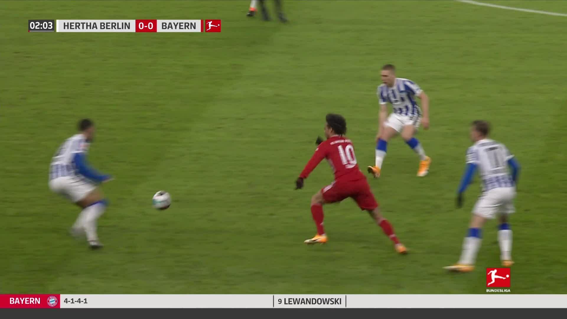 Hertha Berlin 0-1 Bayern