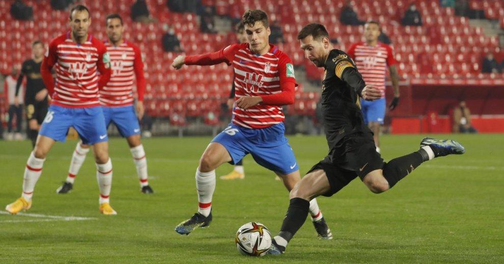 Penampilan Messi melawan Granada di Piala Raja