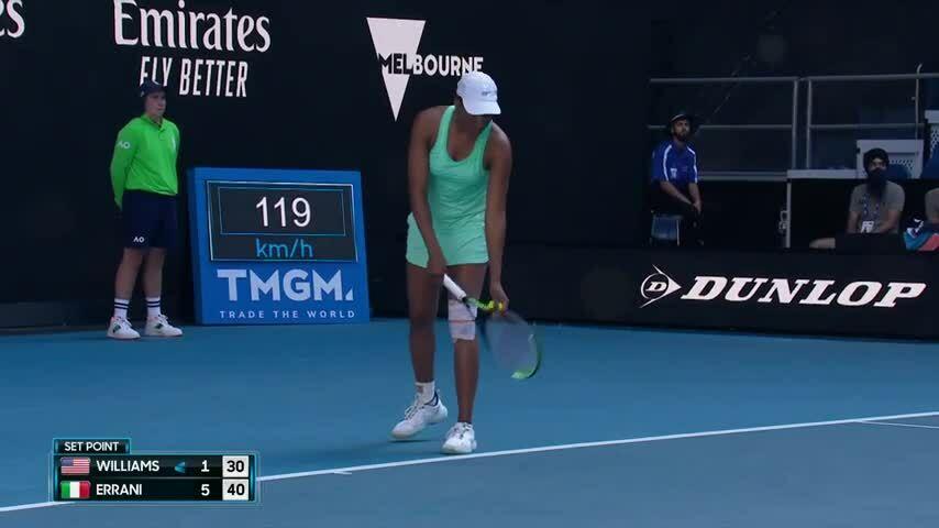 Thất bại truyền cảm hứng của Venus Williams
