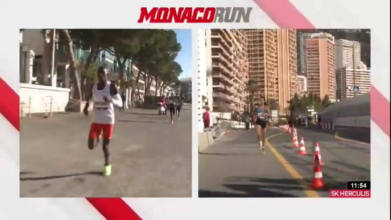 Cheptegei hụt kỷ lục thế giới 5km ở Monaco Run