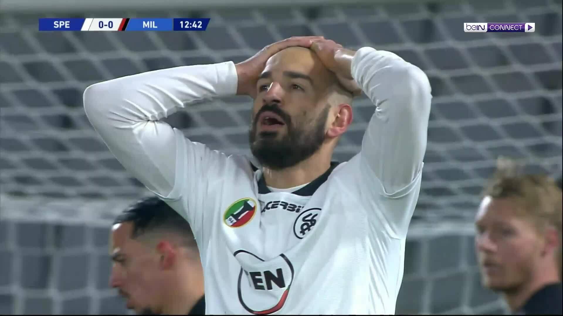 Spezia 2-0 Milan