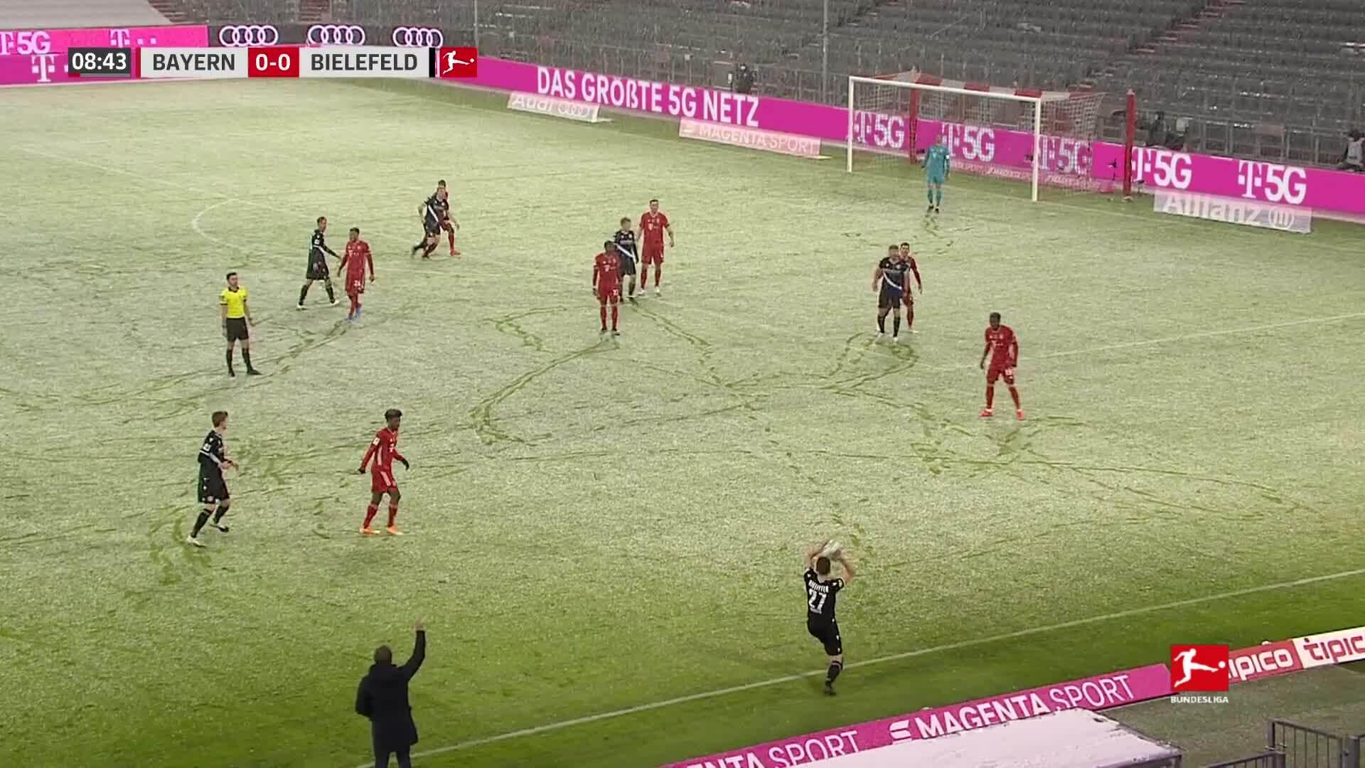 Bayern 3-3 Bielefeld