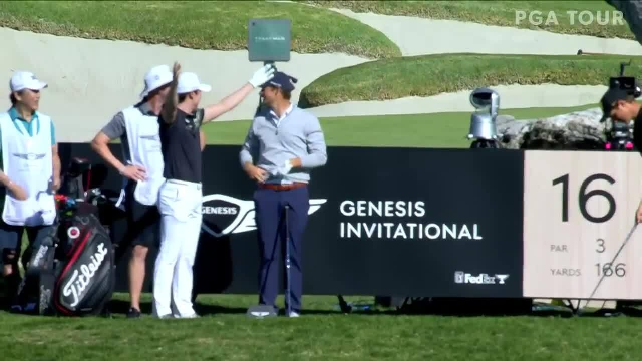 Kim Tae Hoon hole-in-one tại vòng đầu Genesis