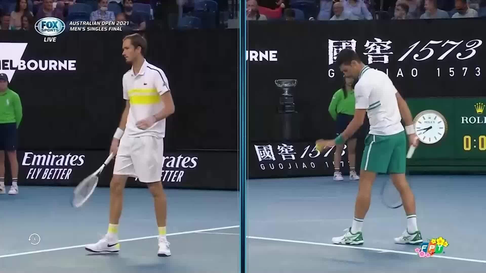 Djokovic 3-0 Medvedev