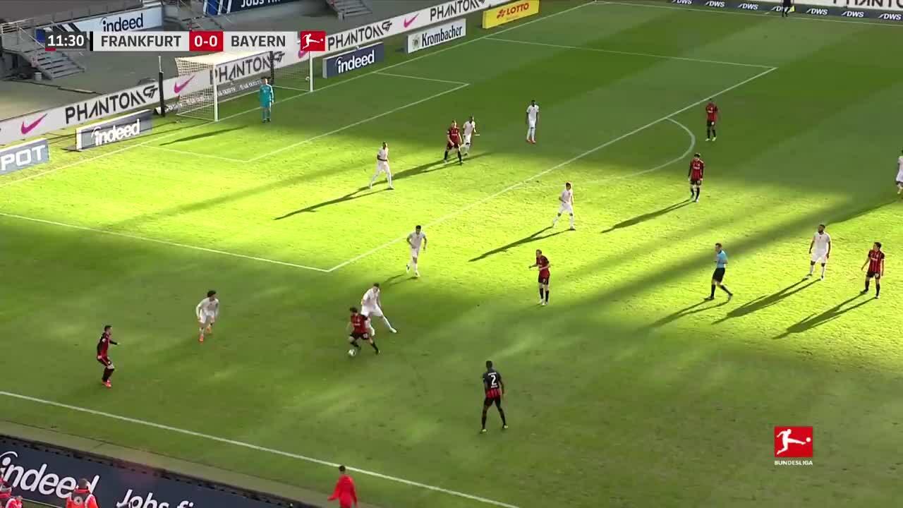 Frankfurt 2-1 Bayern
